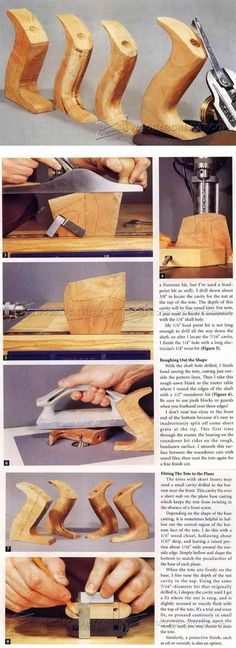 Replacing a Hand Plane Tote - Hand Tools Tips and Techniques | WoodArchivist.com
