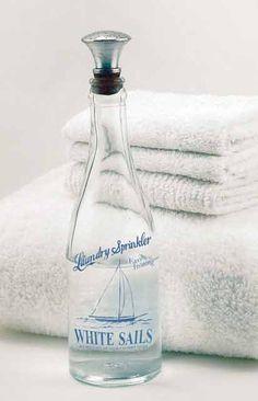 White Sails Laundry Sprinkler