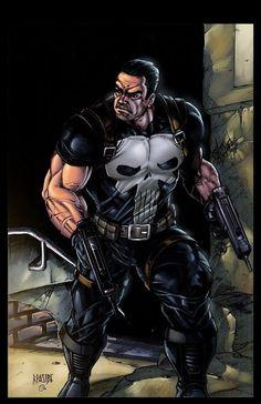 Les illustrations de super-héros de Ryan Pasibe