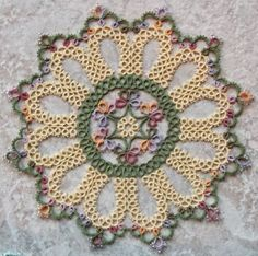 West Pine Creations: Doily