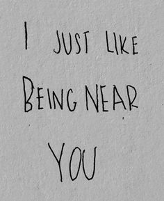Just want to be with you every second of my life.....