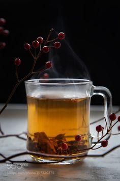 A cup of tea by tatyanasaprykina