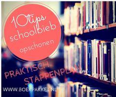 Stappenplan om de schoolbibliotheek aan te pakken. Een uitgebreid artikel met veel simpele tips om direct toe te passen!