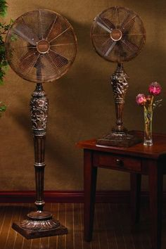Deco Breeze Cantalonia Floor Standing Fan   Wouldnu0027t This Be Pretty On A  Screened Porch? There Are Dozens Of Beautiful Fans From Deco Fans, Table  Top And ...