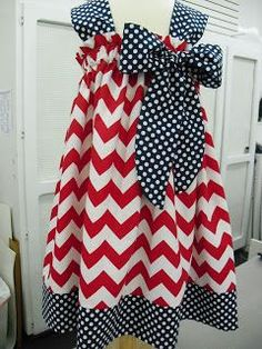 better than a pillowcase dress. I wish I had a little girl to sew for. She would be the best dressed little thing around. This would be easy to make!
