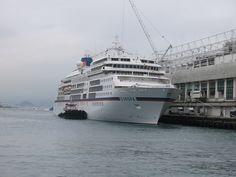 MS EUROPA@ocean terminal hong kong