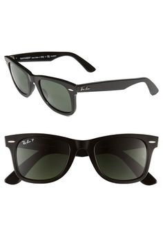 Ray-Ban 'Classic Wayfarer' 50mm Polarized Sunglasses | Nordstrom-Black