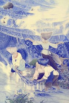 Chinese painting Zhu Xunde
