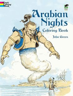 From one of the most popular collections of ancient folk tales — 30 thrilling scenes filled with flying carpets, magic lamps, flashing swords, sultans, thieves, warrior princes, and shape-shifting jinnis.