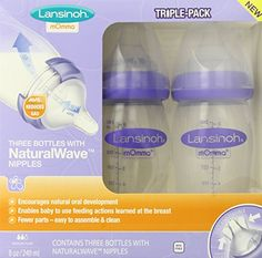 Lansinoh mOmma Bottle with NaturalWave Nipple, 8 Ounce, 3 Count Lansinoh http://www.amazon.com/dp/B00H0DH2OM/ref=cm_sw_r_pi_dp_nNzSwb1PHFZV5
