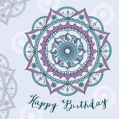 Free Happy Birthday Cards, Happy Birthday Wishes, Exam Wallpaper, Boy First Birthday, Birthday Cake, Mandala Pattern, Journal Cards, Birthday Quotes, First Birthdays