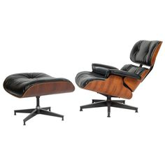 Eames lounge chair & ottoman, i will own you someday.