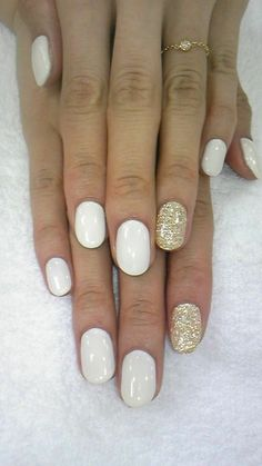 decorated nails white gel nail deco 41 ideas in pictures for your decorated nails! French Nails, White Gel Nails, Semi Permanente, Rose Art, Nagel Gel, Accent Nails, Nail Polish Colors, Nails Inspiration, Acrylic Nails