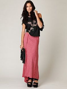 Love this whole look -- Cascade Canyon Maxi skirt -- $78.00