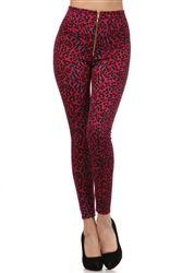 $25 High Waist Leopard Pin Up Pants!