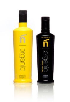 ñ | organic - Organic Olive oil packaging on Behance