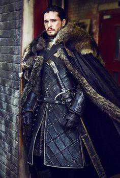 Kit Harington as Jon Snow by Helen Sloan