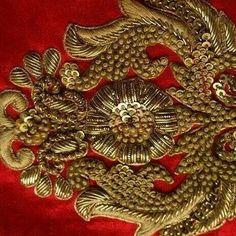 More silks for Anala and Kamiliah Bullion Embroidery, Zardosi Embroidery, Hand Embroidery Dress, Indian Embroidery, Gold Embroidery, Embroidery Fashion, Hand Embroidery Designs, Embroidery Patterns, Blouse Patterns