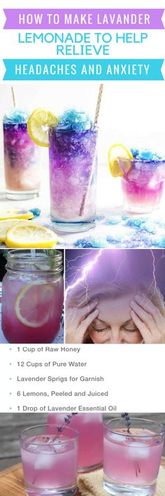 How To Make Lavender Lemonade To Help Relieve Headaches And Anxiety