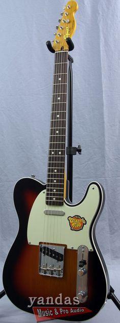 Squier Classic Vibe Telecaster Custom Electric Guitar | 3-Color Sunburst