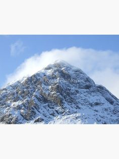 """""""Buachaille Etive Mor the Highlands , Scotland"""" Photographic Print by goldyart Highlands Scotland, Create Image, Print Design, David, It Is Finished, Metal, Prints, Pictures, Photos"""