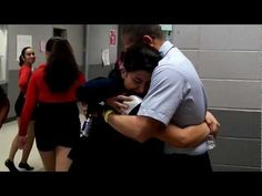 """[VIDEO] U.S. Airman Surprises Sister at Dance Competition  