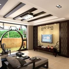 Asian Inspired Design Living Room Part 88