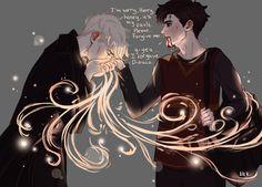 Draco Malfoy and Harry Potter Harry Potter Feels, Harry Potter Draco Malfoy, Harry Potter Ships, Harry Potter Fan Art, Harry Potter Universal, Harry Potter Fandom, Harry Potter Hogwarts, Hermione, Harry Draco
