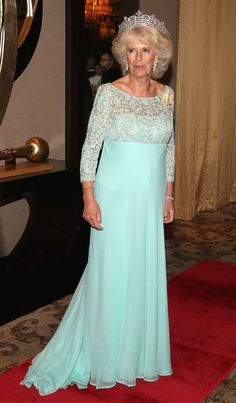 Duchess Camilla at the Commonwealth Heads of Government 2013 Opening Ceremony in Colombo, Sri Lanka 15 Nov 2013