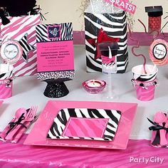 pink zebra graduation party ideas party city graduation party ideas dtgraduationparty - Party City Decorations