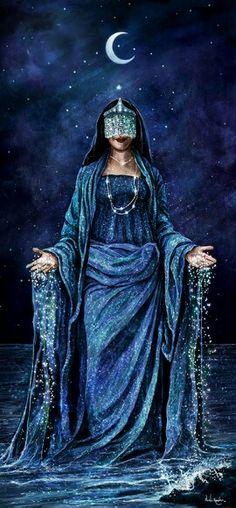 Mãe da maioria dos Orixás é considerada a dona da maternidade, do casamento e família e Mamãe Universal. Ela reina nas águas do mar…
