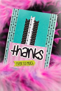 Thanks Ever So Much by HoosierHappyMail on Etsy
