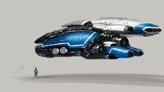 Sketch of spaceship, Dmitry Ustinov on ArtStation at https://www.artstation.com/artwork/sketch-of-spaceship