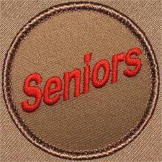 Seniors Patrol Patch (#470)