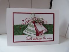 StampinClubNederland - Stampin Up! products and workshops: Best wishes for the season - Seasonal Bells Stampin 'Up!