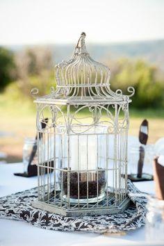 Birdcage Centerpiece Wedding Ideas