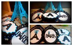 Moldura Paris Tiffany - G 50cm alt.   Paperíca   Elo7