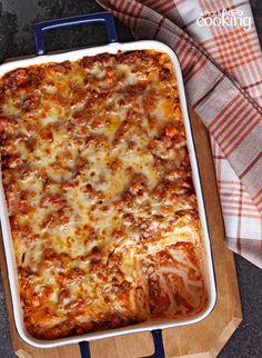 Easy Ravioli Lasagna Bake #recipe