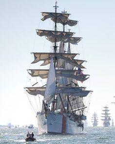 U.S. Coast Guard Eagle. SO VERY BEAUTIFUL!!! Let us sail....
