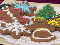 Cooking Channel serves up this Throwdown Gingerbread Cookies recipe from Bobby Flay plus many other recipes at CookingChannelTV.com