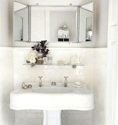 trifold bathroom mirror