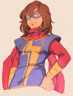 Kamala Khan/Ms. Marvel by beeper
