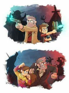 Run in the family gravity falls. Gravity Falls Funny, Gravity Falls Anime, Gravity Falls Fan Art, Gravity Falls Comics, Dipper And Mabel, Dipper Pines, Fanart, Familie Symbol, Phineas E Ferb