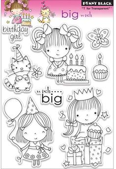 Big Wish (Birthday Girl) - Clear Stamp