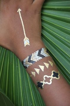 Caribbean Chic    tattoos by @tribetats