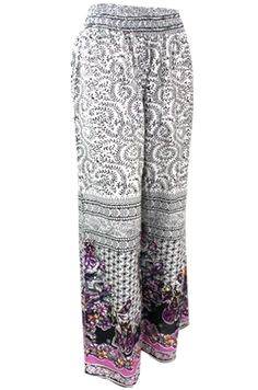 Palazzo pant for chic lounging. :)
