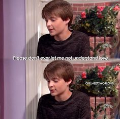 I think this is my favorite episode such a hard topic but it was amazing how they played it out. Really made ya think Boy Meets Girl, Girl Meets World, Boy Or Girl, Riley Matthews, Disney And More, Disney Love, Riley And Farkle, Girl Code Quotes, Happy Birthday Meme