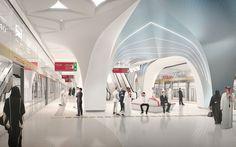 Qatar Integrated Railway Project by Ben Van Berkel / UNStudio