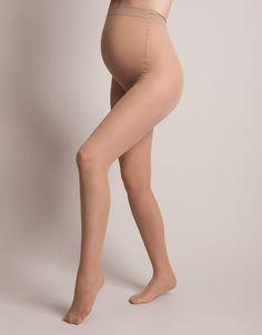 b79e32e038 40 Denier Nude Over-Bump Maternity Tights