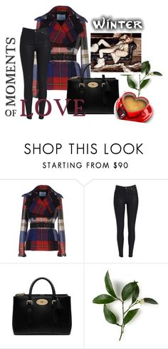 """""""Untitled #1278"""" by doinacrazy ❤ liked on Polyvore featuring Prada and Mulberry"""
